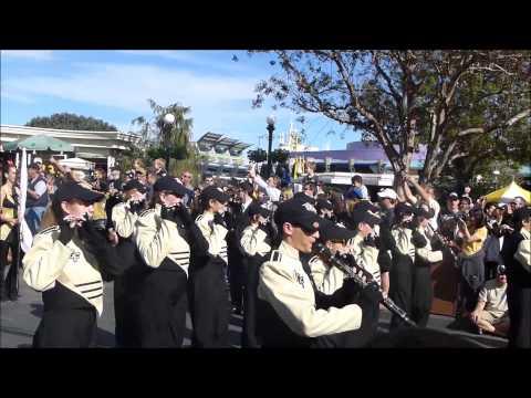 2013 UCF Fiesta Bowl Champions Celebration at Disney's Magic Kingdom