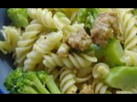 Cavatelli Sausage With Broccoli | Italian Recipes | EASY TO LEARN | QUICK RECIPES