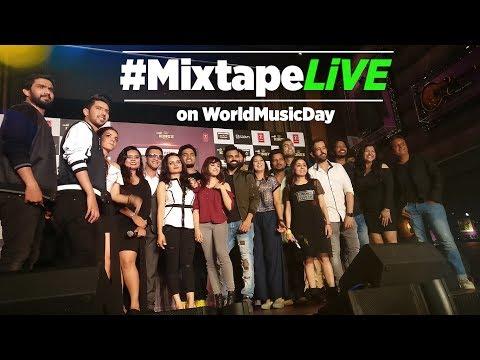 Youtube Live: Mixtape LIVE With T-Series Mixtape Artists | World Music Day 2017