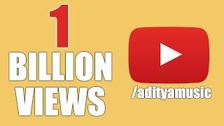 Aditya Music Celebrating 1Billion Views || Aditya Music || 1 Billion Views