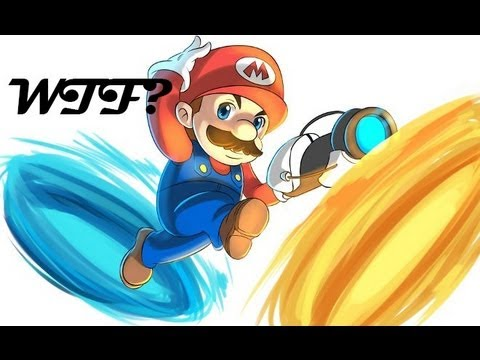Mario Portal - WTF ?