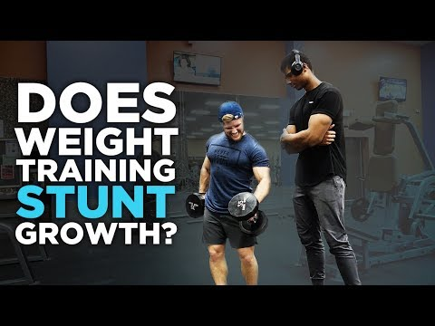 Does Weight Training Stunt Your Growth?