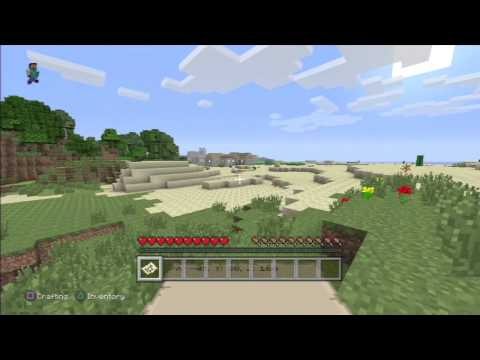 Minecraft PS3 Saddle Location DUNGEON IN VILLAGE! (SEED)