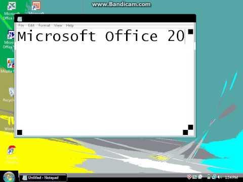 Windows Vista In 4 Bit And 8 Bit Color