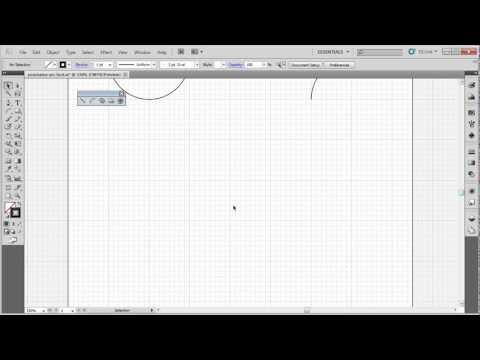 Illustrator CS5 Basics:Arc Tool and shortcut keys
