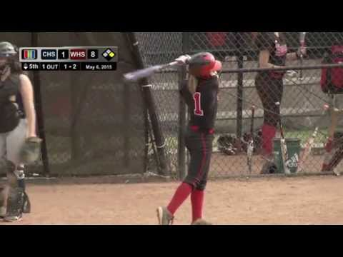 High School Softball: CHS vs WHS, May 6, 2015