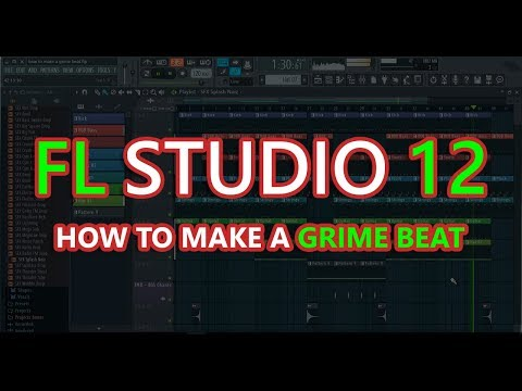 How to Make a Grime Beat | FL Studio 12