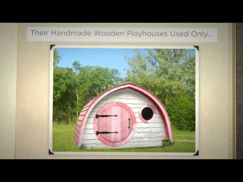 The Hobbit PlayHouse Company Story  Beautiful Wooden Playhouses