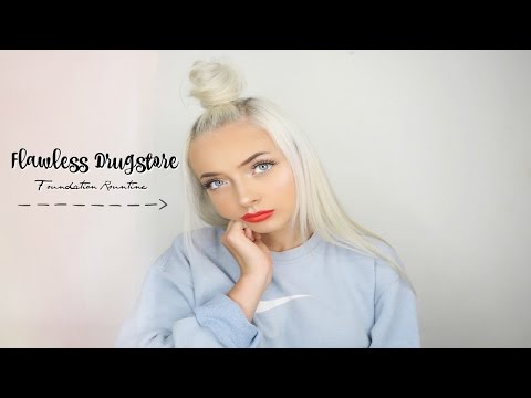FLAWLESS DRUGSTORE FOUNDATION ROUTINE