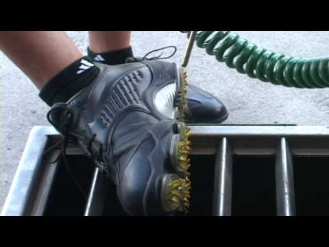 FAIRWAY Golf Shoe Cleaning at PGA NATIONAL RESORT FLORIDA.mp4
