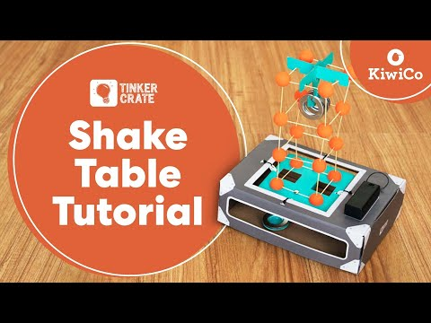 Make an Earthquake Shake Table - Tinker Crate