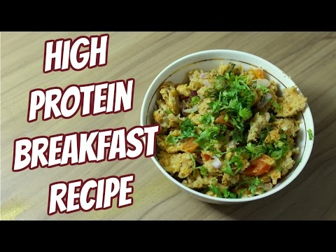 Scrambled egg with Oats | High Protein Breakfast | Super Easy recipe by Dietelicious