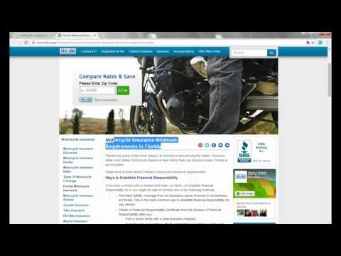 Motorcycle insurance in florida