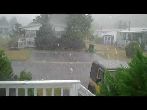 Raining Ice Cubes