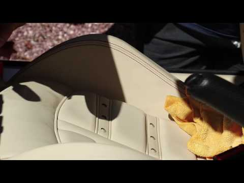 How to Clean and Protect and Prevent Stains on Car Leather Seats | CarPro CQuartz Leather