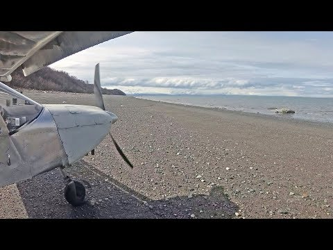 More Flying in Alaska: Beach take-off in the Zenith STOL CH 801