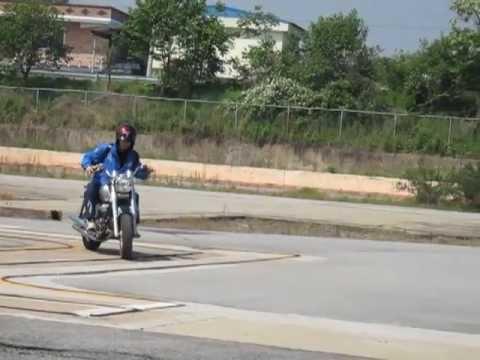 Korean Motorbike Test - 5 Fails & 1 Success