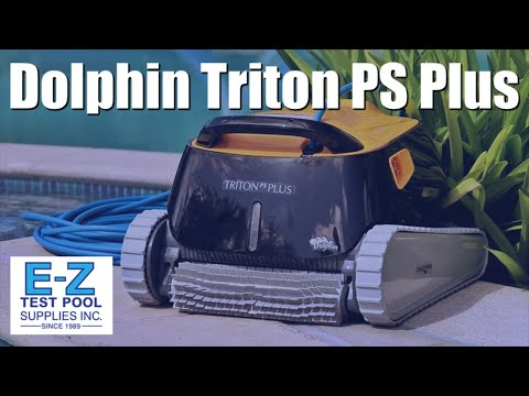 Dolphin Triton Plus Pool Cleaner with PowerStream and Bluetooth, by Maytronics