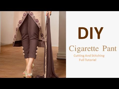 Xxx Mp4 DIY Cigarette Pant Cutting And Stitching Full Tutorial 3gp Sex
