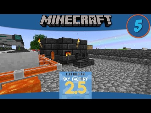 Minecraft Mods: How to build a Tinker's Construct Smeltery in SkyFactory 2.5 - E5