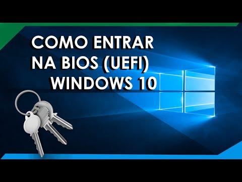 Como Entrar na BIOS Windows 10
