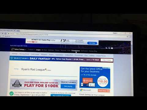 How to delete a fantasy football team in your league