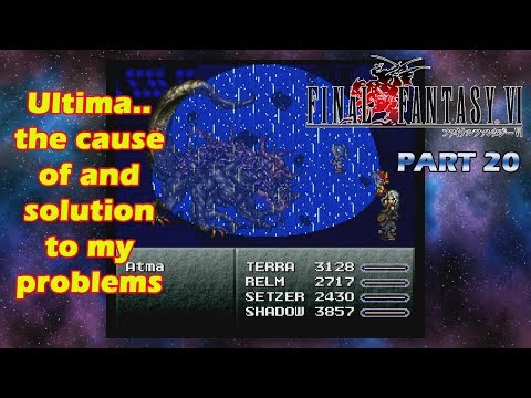 The FF Journey: Final Fantasy VI part 20 - Magimaster Sucks and So Does Learning Ultima