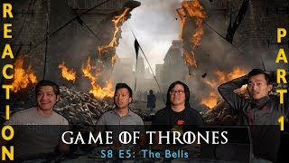 game of thrones season 8 episode 5 reaction