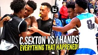 Collin Sexton vs Jaylen Hands HEATED Battle! EVERYTHING That Happened  + What The Crowd Did!