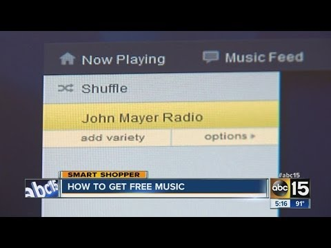 Listen to music on computer for phone for free