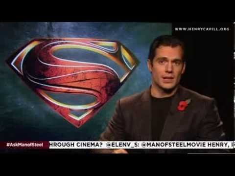 Henry Cavill talks about taking a leap of faith for Man of Steel event