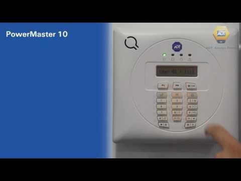 How to change  your alarm master Code - PowerMaster 10 Panel - ADT UK