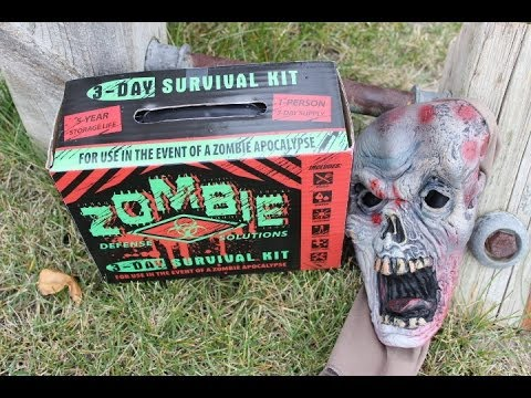 Zombie 3-Day Survival Kit Review  (2017 Warning)