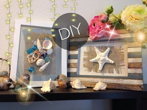 DIY : ROMANTIC Seashell Frames | The Beach Frames
