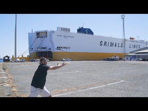 CARGO SHIP TRAVEL TO CYPRUS! Limassol, Cyprus