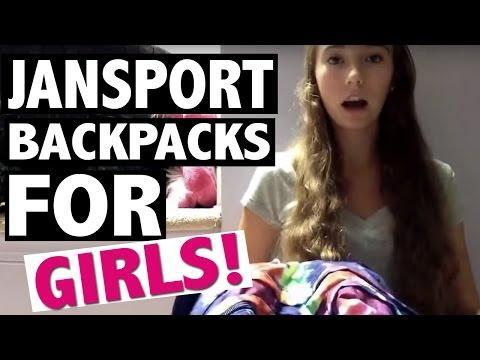 JanSport Backpacks for Girls - Backpack Packing Tips!