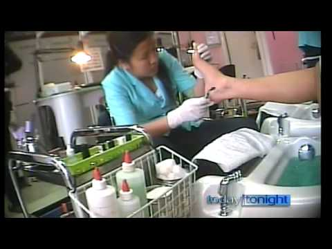 Today Tonight - Nail Salon Investigation - 1 July 2010