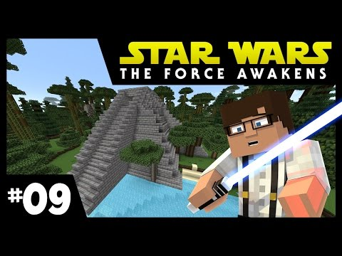 Star Wars: The Force Awakens Ep. 9 || JEDI TRAINING || Minecraft Modded Survival
