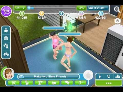 Sims freeplay - Scl. Woohoo!! :)