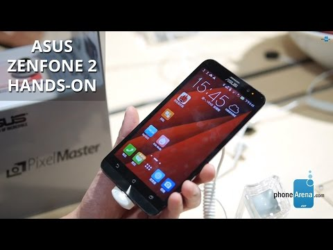 Asus Zenfone 2 hands-on