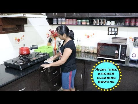 My Everyday Night Time Kitchen Cleaning Routine