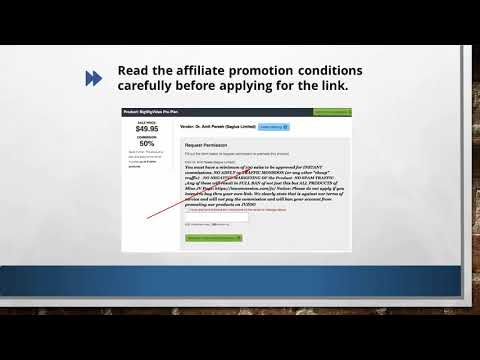 Affiliate Marketing Strategies Course How To Get Approved For A Jvzoo com Affiliate Account