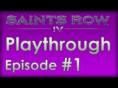 Saints Row IV Walkthrough Part 1