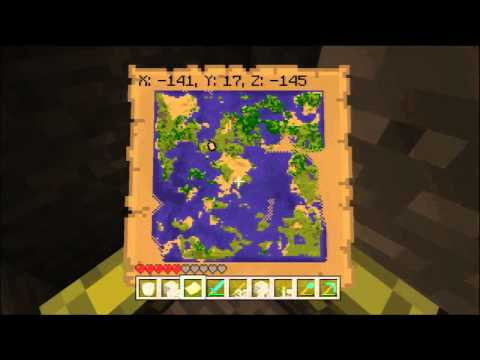 Minecraft for Xbox 360 #86 - Diagonal Digging, Ore Hunting