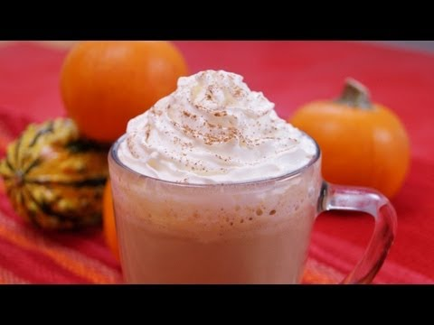 Starbucks Pumpkin Spice Latte: Recipe: How To Make Latte: PSL: Dishin' With Di  #107