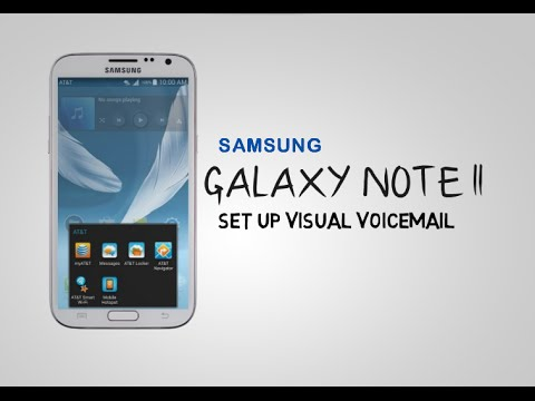 Samsung Galaxy Note - how to set up visual voicemail on your Galaxy Note II