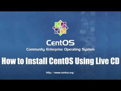 How to Install CentOS 7 Using Live CD