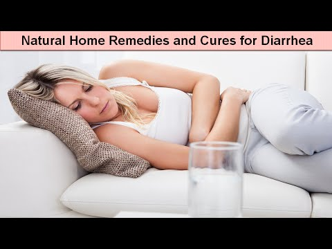 Natural Home Remeides and Cures for Diarrhea