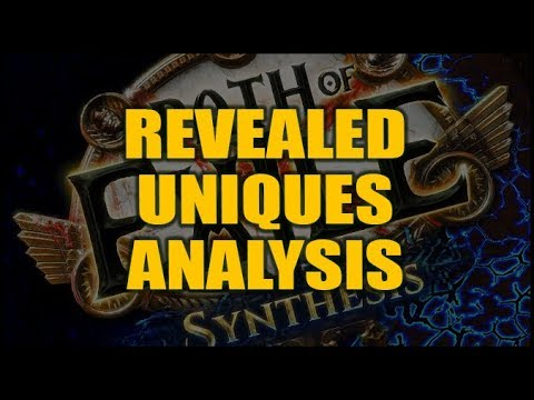 PoE SYNTHESIS: Uniques Analysis - Eternity Shroud, Storm's Gift, Vixen's  Entrapment & More