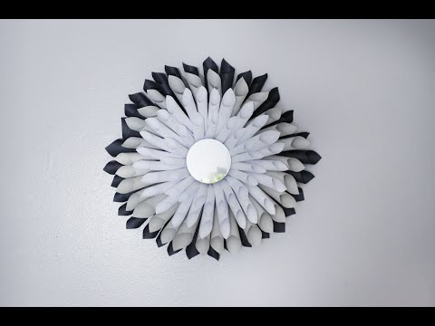 Folding Cones for Paper Cone Wreaths